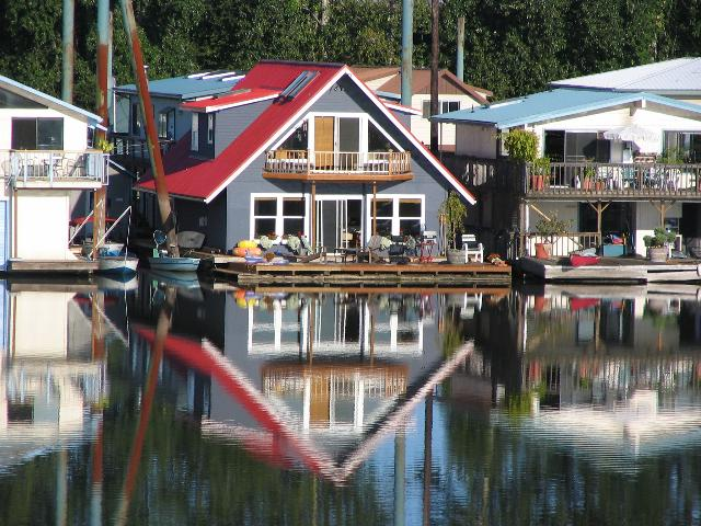 General sauvie island facts Portland floating homes